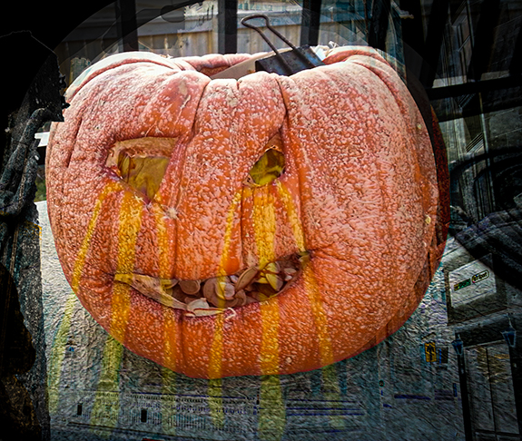 In View of October an Ugly Pumpkin